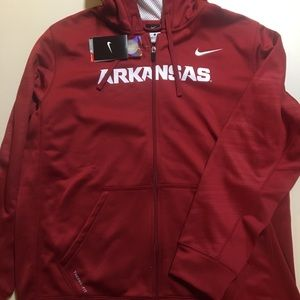 Arkansas Nike Zip Up Hoodie